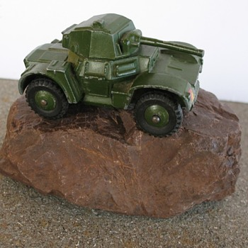 Dinky Toys Armoured Car 670 Mfg in England