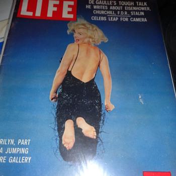 Marilyn Monroe November 9, 1959 Life Magazine