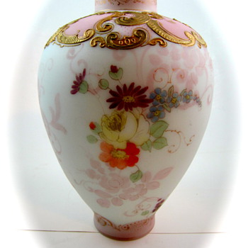 Mt Washington Crown Milano Jar, PN 605, ca. 1890s
