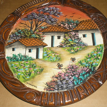 PAINTING ON WOOD ALVARENGA