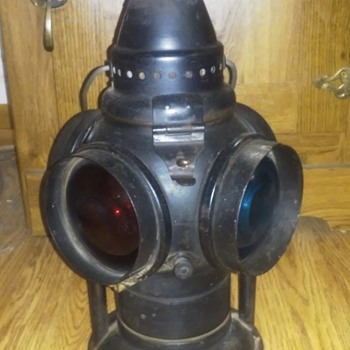 1904 Adams & Westlake Switch Lamp - Railroadiana