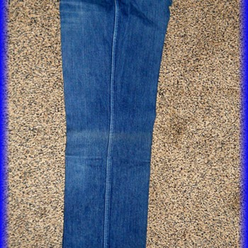 Vintage Canadian Tuxedo -- FANCY ASS - BLUE JEANS - ( Part II of II ) - Womens Clothing