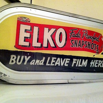 Elko Fade Proofed Snapshots sign - Signs