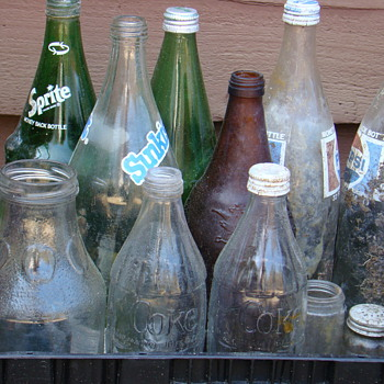 Soda soda &amp; more soda - Bottles