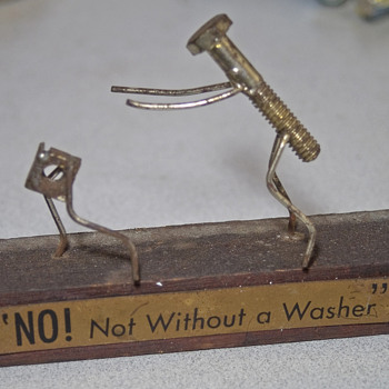 """No ! Not without a washer"""