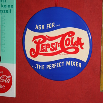 pepsi cola sign - Signs