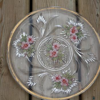 My mystery platter - Glassware