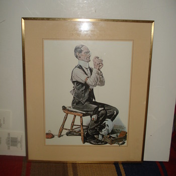 """NORMAN ROCKWELL"" ---- ""DIEGO SANCHEZ"" PRINTS - Posters and Prints"