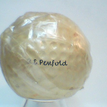 A. E. Penfold Signature Golf Ball circa 1940s - Sporting Goods