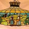 Amish Theme Tiffany style lamp