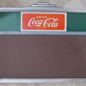 Coca-Cola Menu Board - Coca-Cola