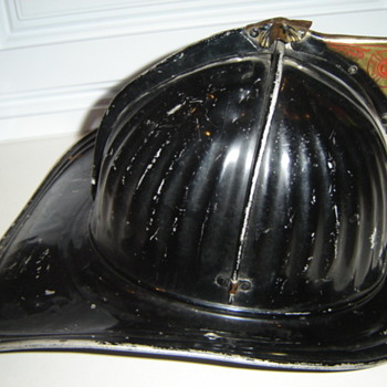 Vintage Firefighting Helmet - Firefighting