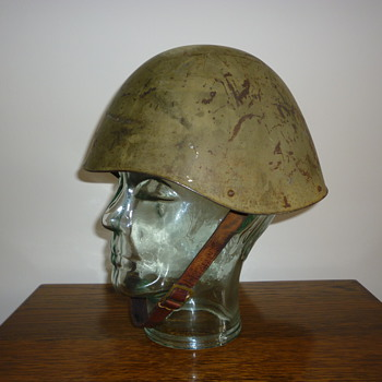 WWII Greek steel helmet.