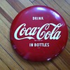 "16"" Drink Coca-Cola in Bottles sign"
