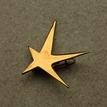 Expo &#039;58, Brussels World Fair star brooch