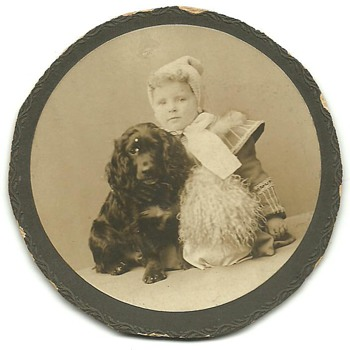 My Grandmothers baby pic - circa 1901 - Photographs