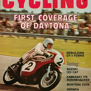 1970 - Popular Cycling Motorcycle Magazine - Paper
