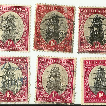 Stamps of South Africa - Stamps