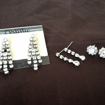 Crystal earings!  - Costume Jewelry