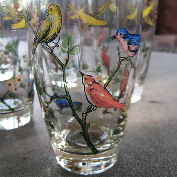 Flying Glasses - Glassware
