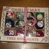 Vintage Glass Christmas Tree Ornaments