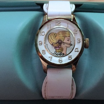 Mattel / Bradley 1964 Barbie Wristwatch - Wristwatches