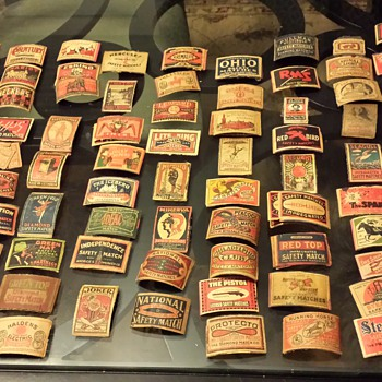 Antique Matchbox Covers