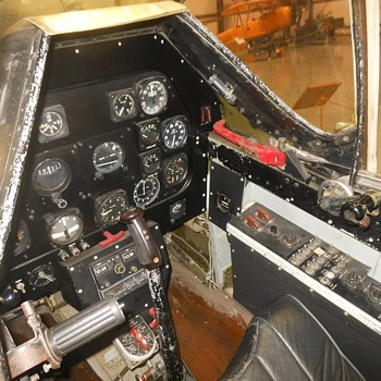 Inside The Cockpit of a P-51D Mustang WWII - Military and Wartime