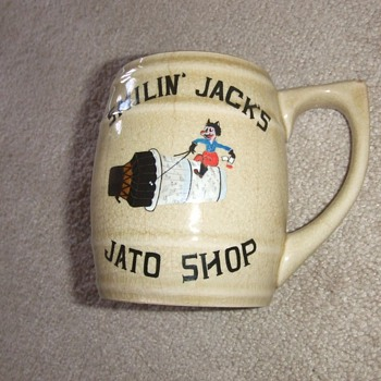 Korean War Air Force Souvenir Mug