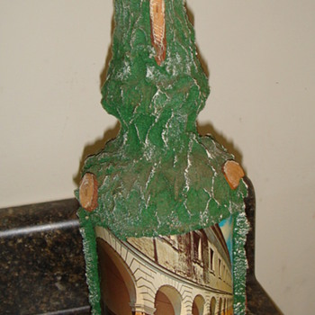 Musical-Wine or ? decorated bottle- Never been opened-Italy - Bottles