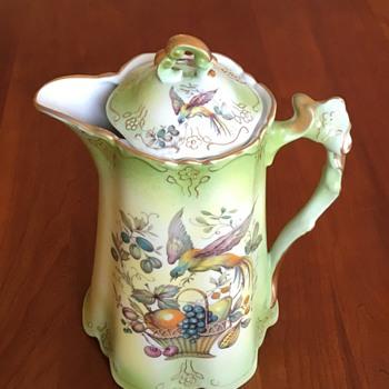 Vintage German Chocolate Pot