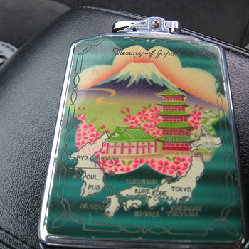 Memory of Japan Lighter - Asian