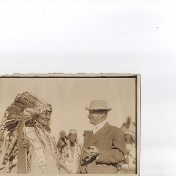 Photos  Glacier Park Montana 1915 Indians T Roosevelt  - Photographs