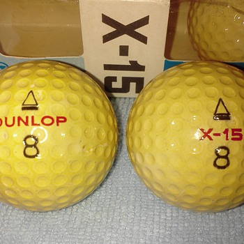 Dunlop X-15 Golf Balls - Outdoor Sports