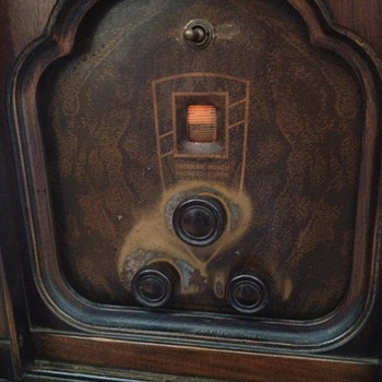 Antique Bosch Floor Model Radio