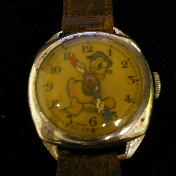 Donald Duck Wristwatch By Ward - Wristwatches