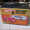 Hot Wheels Collectors Race Case and cars  1969 Mattel