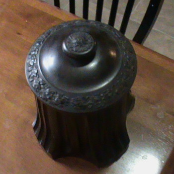 Coffee canister turned out to be rare humidor - Tobacciana