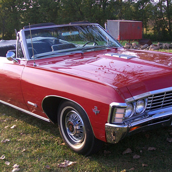 1967 Impala SS convertible - Classic Cars