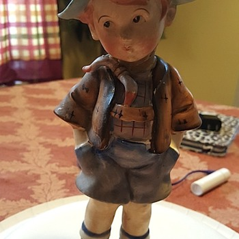 My mothers little boy figurine dime store bought in the 50's