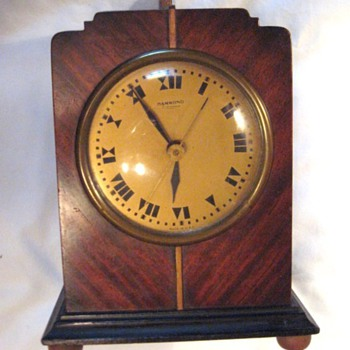 Hammond Art Deco Bichronous Mantle Clock, Columbia 1931  - Art Deco