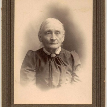 Family Photograph - Older Lady Relative