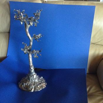 Silver acorn tree