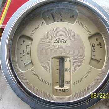 1939 dash gauge 