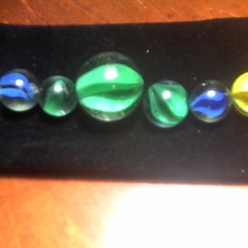 Some Vintage Marbles