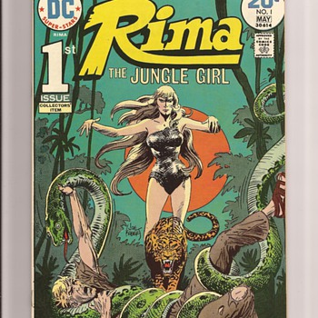 Joe  Kubert jungle fun