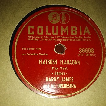 Harry James....! - Records