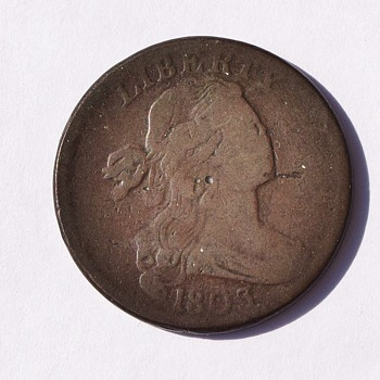 1803 US 1 Cent Coin - Penny
