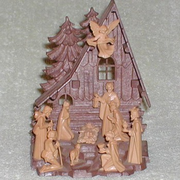 Nativity Scene (small) - Germany - Christmas