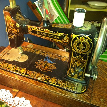 Manhattan Sewing Machine - Information Needed - Sewing